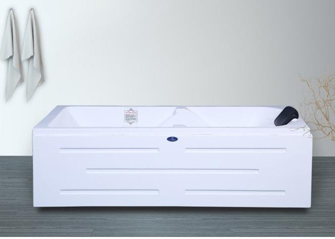 重庆靠墙浴缸8805