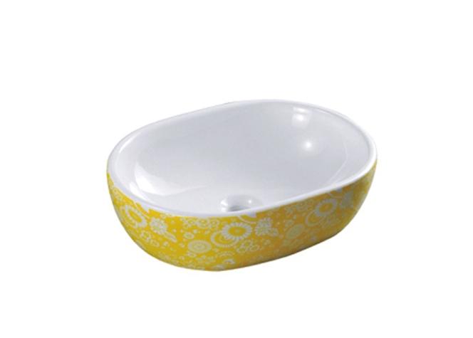 黄纹 3002A 重庆艺术盆