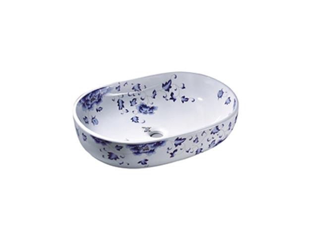 蓝牡丹 3002 重庆艺术盆批发